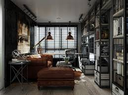 3 Stylish Industrial Inspired Loft Masculine Industrial Style For The Modern Man