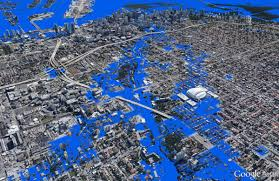Miami City Map by Maps Miami Sea Level Rise 1 6 Ft Miami Geographic