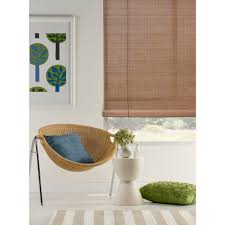 caprice bamboo roll up blind