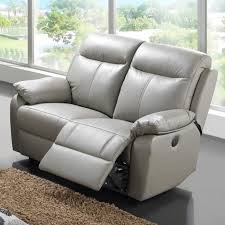 canapé 2 places relax cuir canape 2 places fixe ou relax ref 15180 meubles canapé relax 2