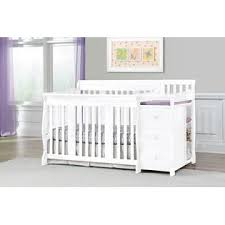 Convertible Crib And Changer Storkcraft Portofino 4 In 1 Convertible Crib Changer White