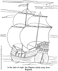 bible printables the pilgrims story coloring pages thanksgiving