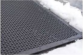 heated cubes premium snow melting walkway mats industrial snow