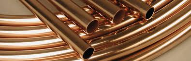 copper projects tubes straight and pancakes naggiar