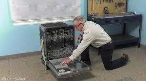 Kitchenaid Dishwasher Utensil Holder Dishwasher Repair Replacing The Silverware Basket Whirlpool