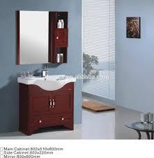 800mm red wooden bathroom mirror cabinets buy bathroom mirror
