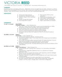Waitress Resume Template by Resume Templates Restaurant Fungram Co
