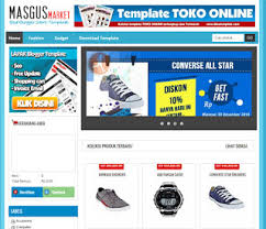 download template toko online simple idtemplate free download template for blogger