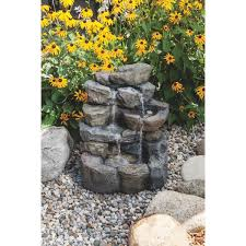 Rock Fountains For Garden Best Garden Landscape Rock Wxf03828 Do It Best