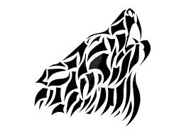 wolf tribal by fish san on deviantart