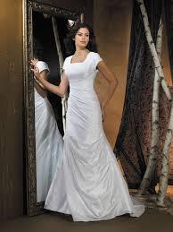 lds wedding dresses wedding enchanting simple modest wedding