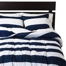 Striped Comforter Rugby Stripe Comforter Room Essentials Target