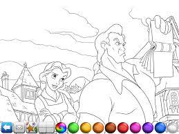 beauty beast deluxe storybook ipad coloring gekimoe u2022 6109