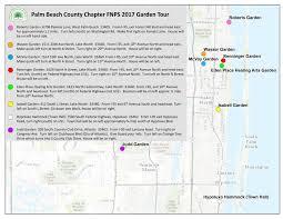 Palm Beach Map 2017 Annual Native Plant Garden Tour Palm Beach