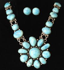 turquoise necklace earring set images 60 7 turquoise necklace earring set the adobe fine art jpg