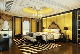 european style bedroom villa renovation renderings interior design