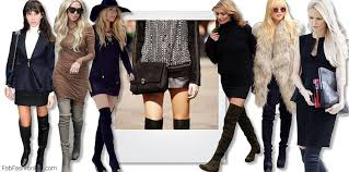 style guide how to wear over the knee boots this winter fab