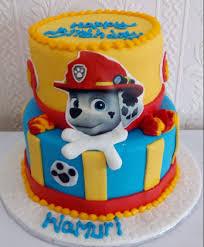 paw patrol cake cakes