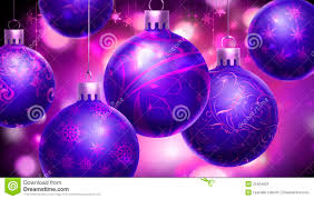 purple abstract background with big decorated blue