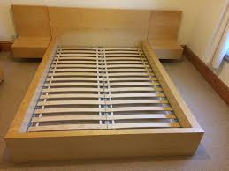 ikea bedroom side tables ikea double bed frame with adjoining bed side tables in chester