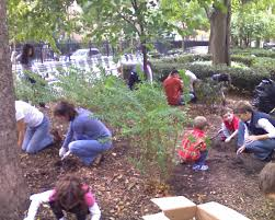 Family In The Garden Forgive To Give Project By Gardens Of Forgiveness Stuyvesant