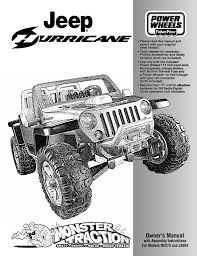 jeep instructions fisher price jeep hurricane n2273 user manual 32 pages also for