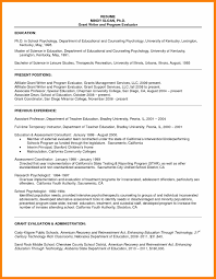Resume Samples Restaurant Manager by Sample Resume Graduate Psychology Templates