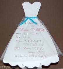 wedding dress bridal shower invitations bridal shower invitations
