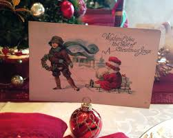 holiday flair red door table decor