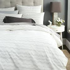 Best 25 Pottery Barn Duvet Bedroom Textured Duvet Cover Idearamaco White Melyssa Bedding Cb2