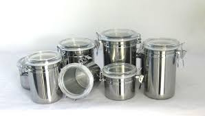 stainless steel kitchen canister sets 4pcs stainless steel kitchen airtight canister sets buy airtight