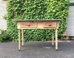 kitchen work table etsy
