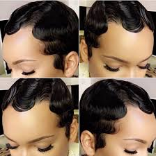black hairstyles ocean waves finger waves an old school classic hair style that s making a