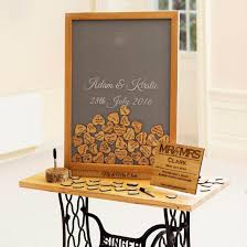 wedding guest book picture frame sign your name frame wedding guestbook dropbox stag design