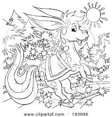 royalty free rf clipart illustration coloring outline