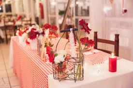 57 ans de mariage décoration de mon mariage thème guingette vichy blanc