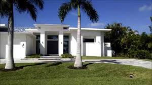 Contemporary Style Homes by Contemporary Homes In Cape Coral Florida Youtube