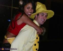 Halloween Costumes George Curious George Man Yellow Hat Couples Halloween