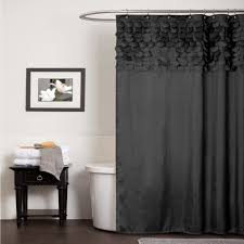 Trendy Shower Curtains Bathroom White Ruffle Shower Curtain Cloth Shower Curtains