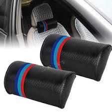 coussin de siege auto 2pc m fibre carbone siège auto cou coussin coussin appui tête