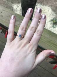 ring engaged i got engaged a year ago with my grandmother s ring but had to
