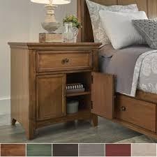 usb port nightstands u0026 bedside tables shop the best deals for
