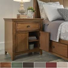 red nightstands u0026 bedside tables shop the best deals for dec