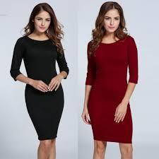 online get cheap office elegant cocktail party dresses aliexpress