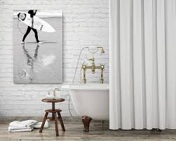 Black And White Bathroom Decor by 170 Best Bathroom Wall Decor Images On Pinterest Bathroom Wall
