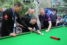 disability day at sheffield winter garden world snooker