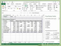how to pivot table how to add rows to a pivot table 10 steps with pictures