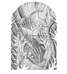 bng koi fish tattoo sleeve by jonasolsenwoodcraft on deviantart