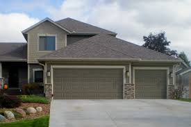 exterior design nice exterior home design with versetta stone interesting garage design with gable roof and versetta stone