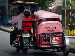 philippines tricycle design file tricycle pink jpg wikimedia commons